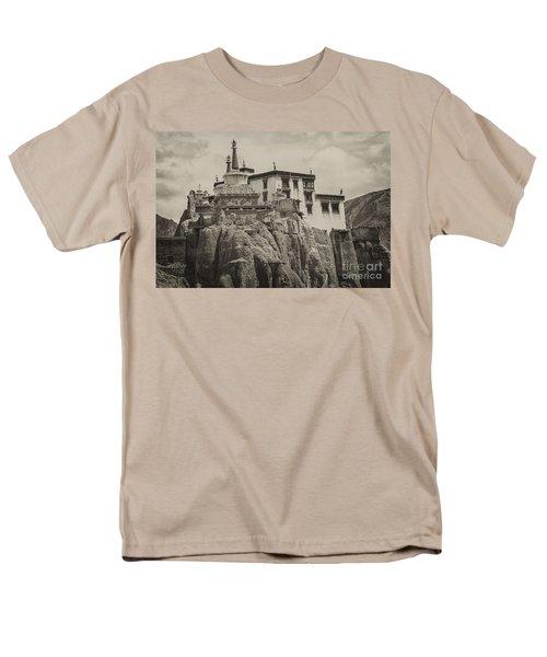 Lamayuru Monastery Men's T-Shirt  (Regular Fit) by Hitendra SINKAR