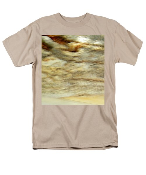 Men's T-Shirt  (Regular Fit) featuring the photograph Land And Sky by Lenore Senior