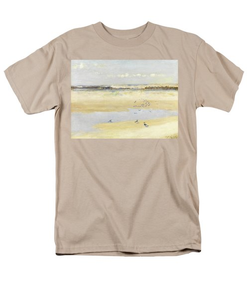 Lapwings By The Sea Men's T-Shirt  (Regular Fit) by William James Laidlay