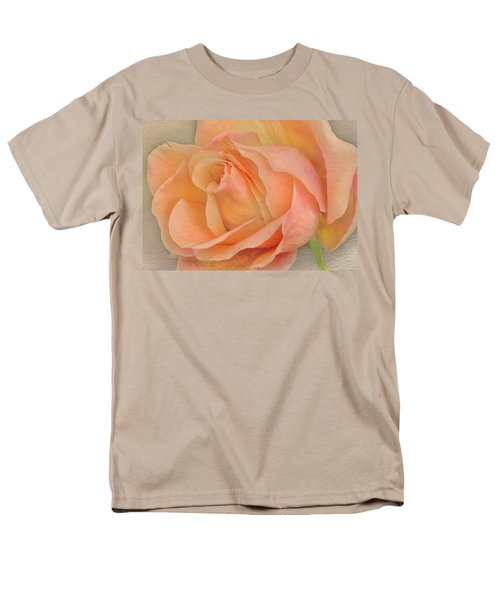 Last Autumn Rose Men's T-Shirt  (Regular Fit) by Jacqi Elmslie