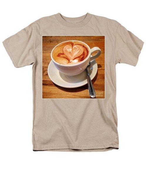 Latte Love Men's T-Shirt  (Regular Fit) by Susan Garren
