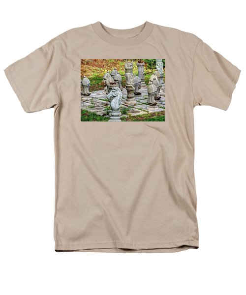 Men's T-Shirt  (Regular Fit) featuring the photograph Lawn Chess by Chris Anderson
