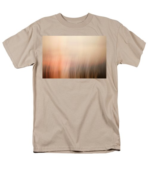 Men's T-Shirt  (Regular Fit) featuring the photograph Laying Low At Sunrise by Marilyn Hunt