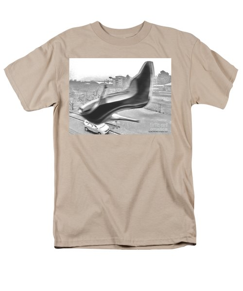 Flying Stiletto Men's T-Shirt  (Regular Fit) by Don Pedro De Gracia
