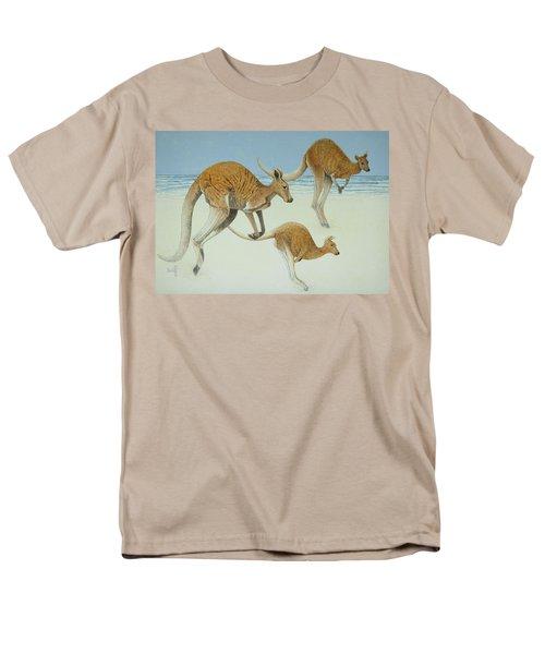 Leaping Ahead Men's T-Shirt  (Regular Fit) by Pat Scott