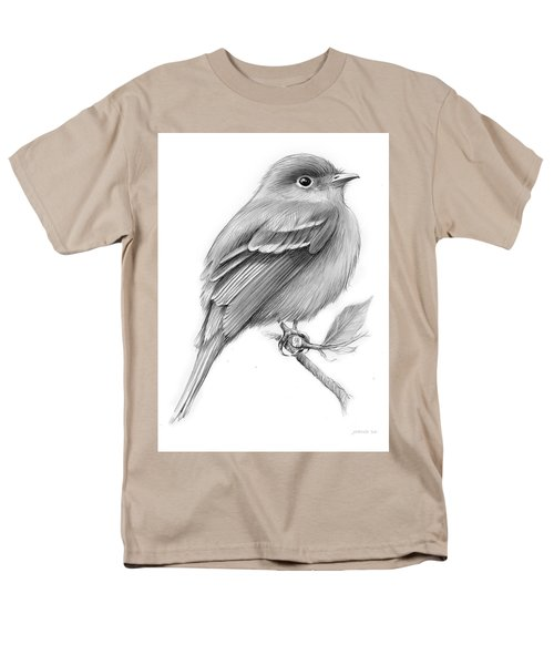 Least Flycatcher Men's T-Shirt  (Regular Fit) by Greg Joens