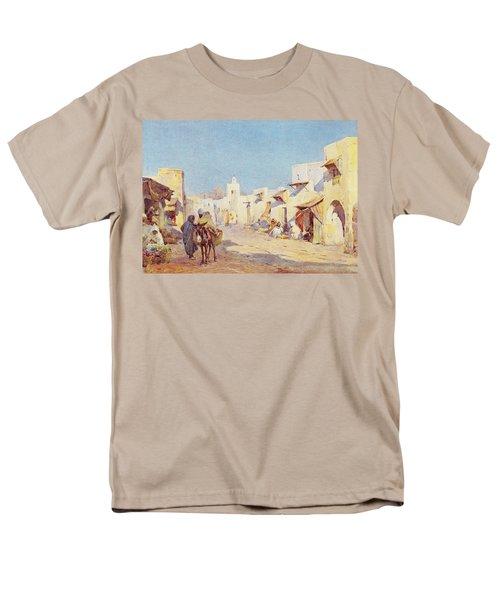 Men's T-Shirt  (Regular Fit) featuring the photograph Leopold Carl Muller 1887 by Munir Alawi