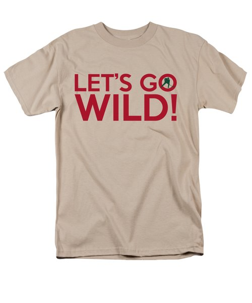 Let's Go Wild Men's T-Shirt  (Regular Fit) by Florian Rodarte