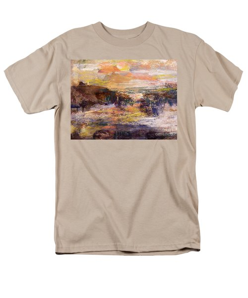 Light Show At Dawn Men's T-Shirt  (Regular Fit) by Nancy Kane Chapman