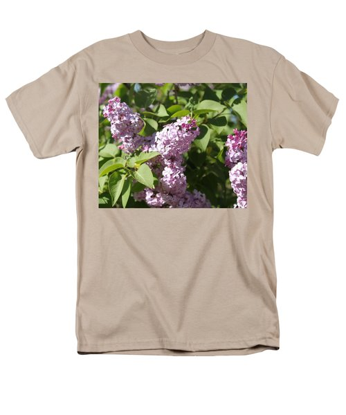 Men's T-Shirt  (Regular Fit) featuring the photograph Lilacs 5544 by Antonio Romero