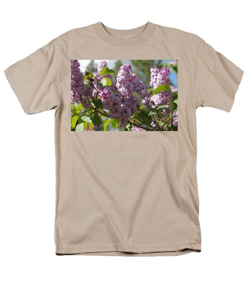 Men's T-Shirt  (Regular Fit) featuring the photograph Lilacs 5548 by Antonio Romero