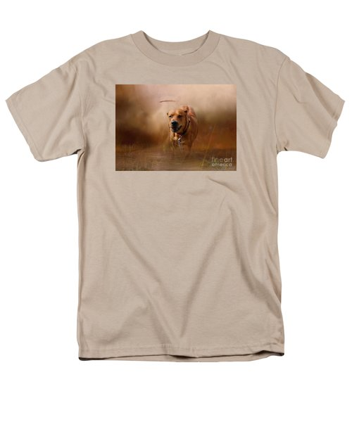 Men's T-Shirt  (Regular Fit) featuring the photograph Lion Dog by Mim White