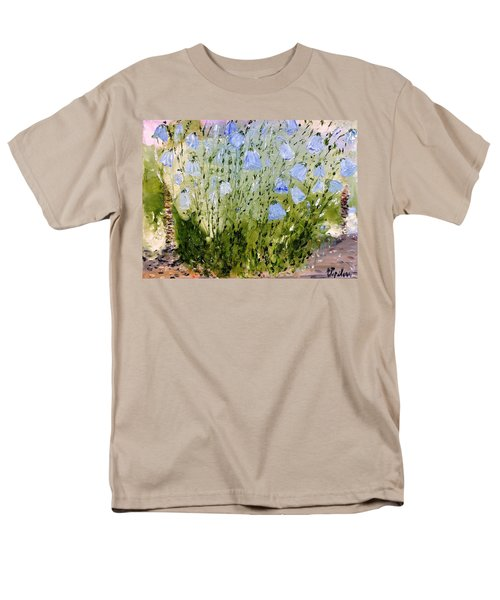 Men's T-Shirt  (Regular Fit) featuring the painting Little Bells by Evelina Popilian