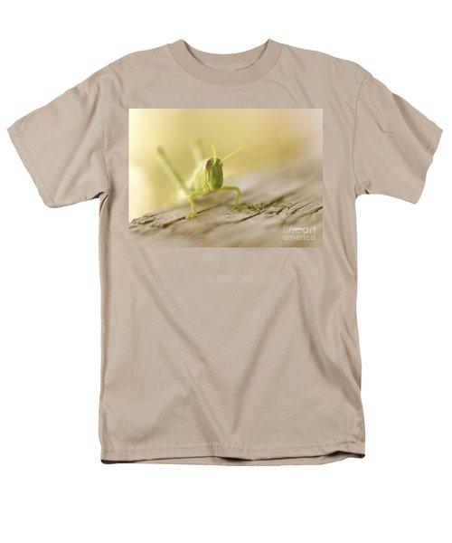 Little Grasshopper Men's T-Shirt  (Regular Fit) by Claudia Ellis