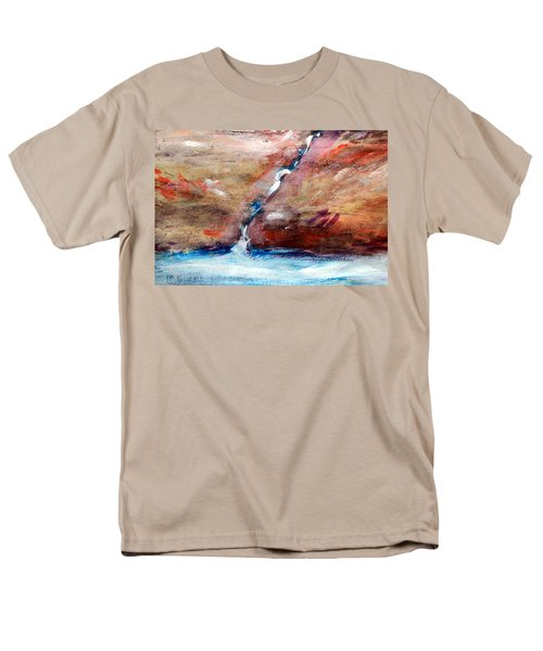 Living Water Men's T-Shirt  (Regular Fit) by Winsome Gunning
