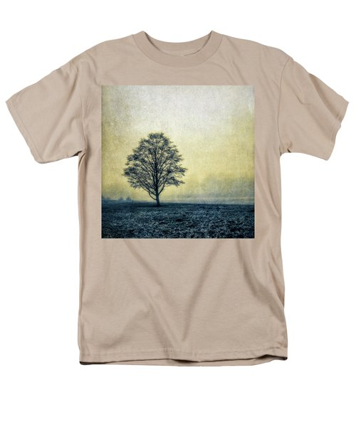 Men's T-Shirt  (Regular Fit) featuring the photograph Lonely Tree by Marion McCristall