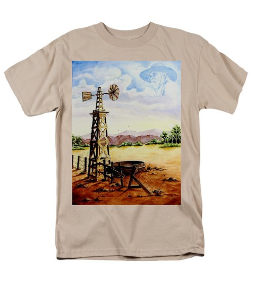 Lonesome Prairie Men's T-Shirt  (Regular Fit) by Jimmy Smith