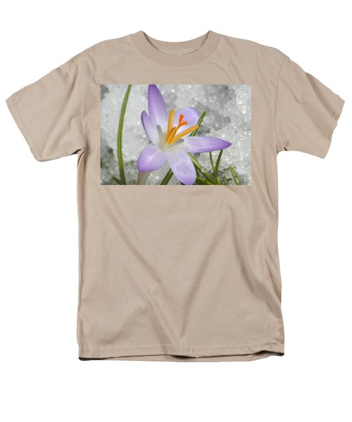 Men's T-Shirt  (Regular Fit) featuring the digital art Look To The Sun by Barbara S Nickerson