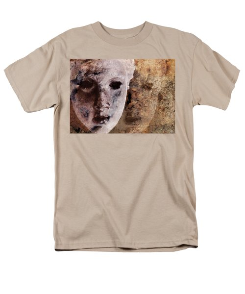 Men's T-Shirt  (Regular Fit) featuring the digital art Loosing The Real You Behind The Mask by Gun Legler