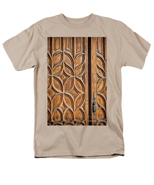 Men's T-Shirt  (Regular Fit) featuring the photograph Loretto Doorway by Gina Savage