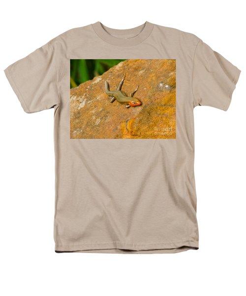 Lounging Lizard Men's T-Shirt  (Regular Fit) by Rand Herron