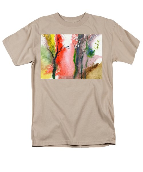 Love Birds 2 Men's T-Shirt  (Regular Fit) by Anil Nene