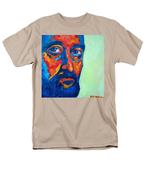 Men's T-Shirt  (Regular Fit) featuring the painting Love Him So Much by Ana Maria Edulescu