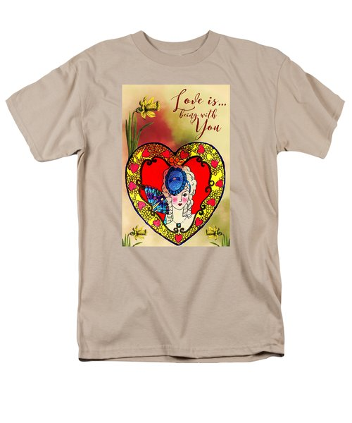 Love Is Men's T-Shirt  (Regular Fit) by Diana Boyd