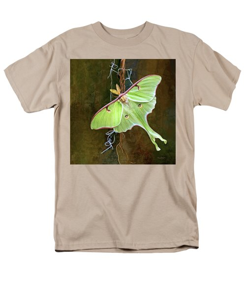 Luna Moth Men's T-Shirt  (Regular Fit) by Thanh Thuy Nguyen