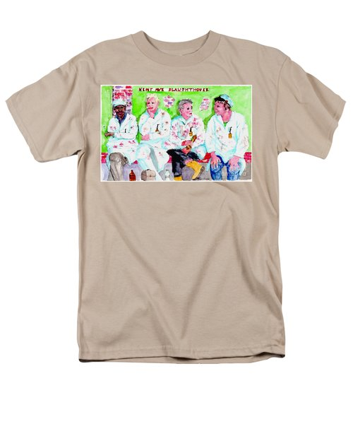 Lunch At The Slaughter House Men's T-Shirt  (Regular Fit)
