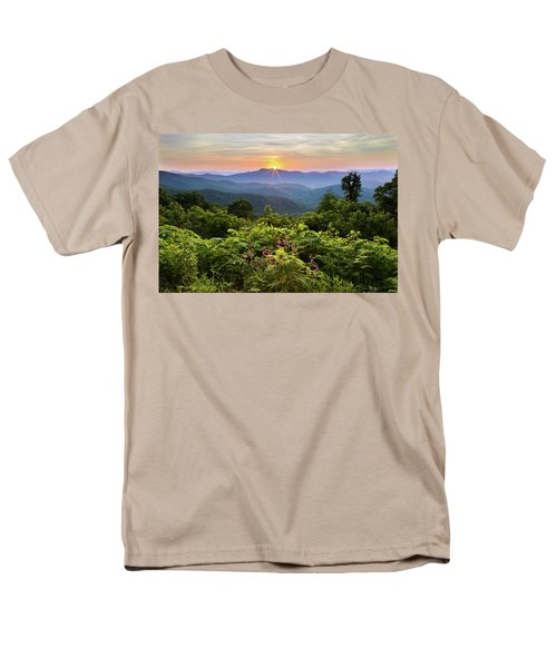 Lush Sunset In June Men's T-Shirt  (Regular Fit) by Deborah Scannell