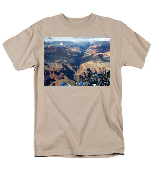 Majestic Grand Canyon Men's T-Shirt  (Regular Fit) by Laurel Powell