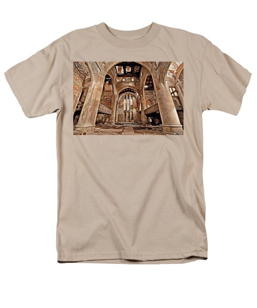 Men's T-Shirt  (Regular Fit) featuring the photograph Majestic Ruins by Suzanne Stout