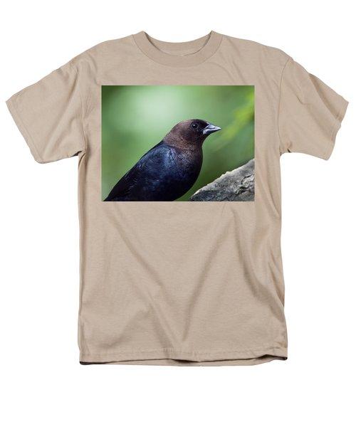 Male Cowbird Men's T-Shirt  (Regular Fit) by Diane Giurco