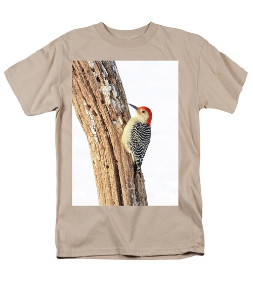 Men's T-Shirt  (Regular Fit) featuring the photograph Male Red-bellied Woodpecker by Paul Miller