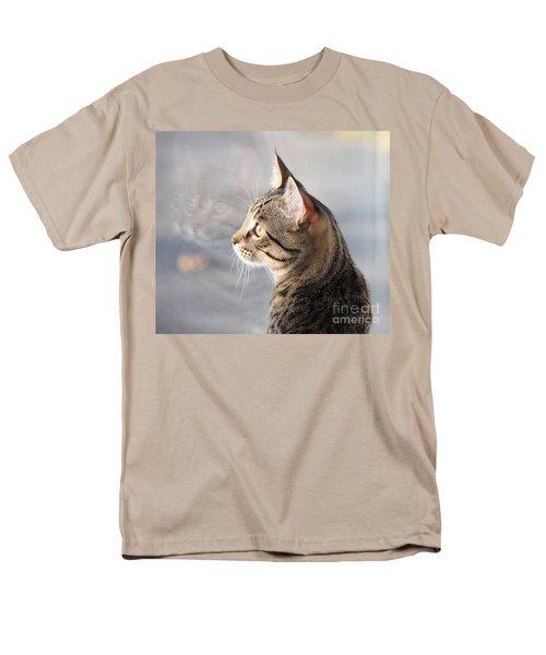 Men's T-Shirt  (Regular Fit) featuring the photograph Many Faces Of Monty.. by Jolanta Anna Karolska