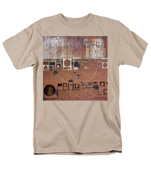 Maps #19 Men's T-Shirt  (Regular Fit) by Joan Ladendorf
