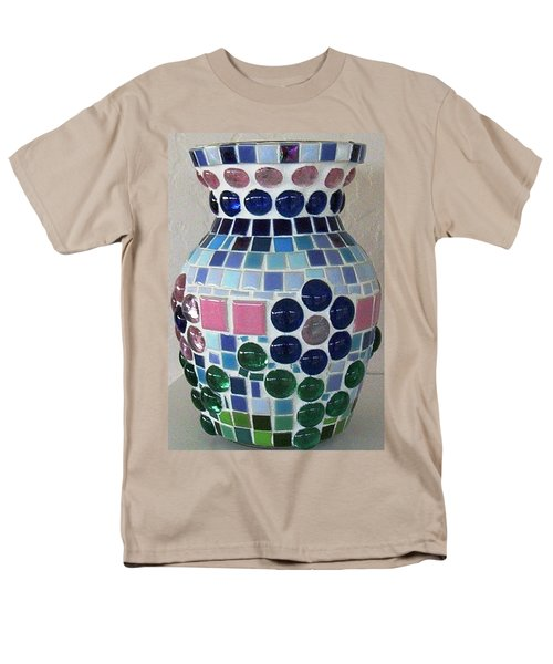 Men's T-Shirt  (Regular Fit) featuring the glass art Marble Vase by Jamie Frier