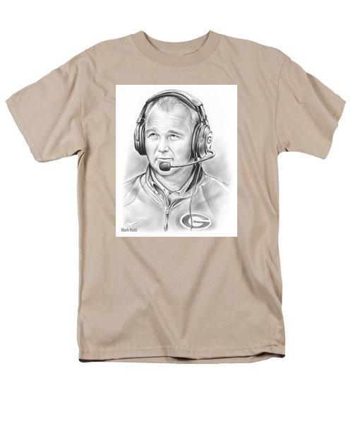Mark Richt  Men's T-Shirt  (Regular Fit)