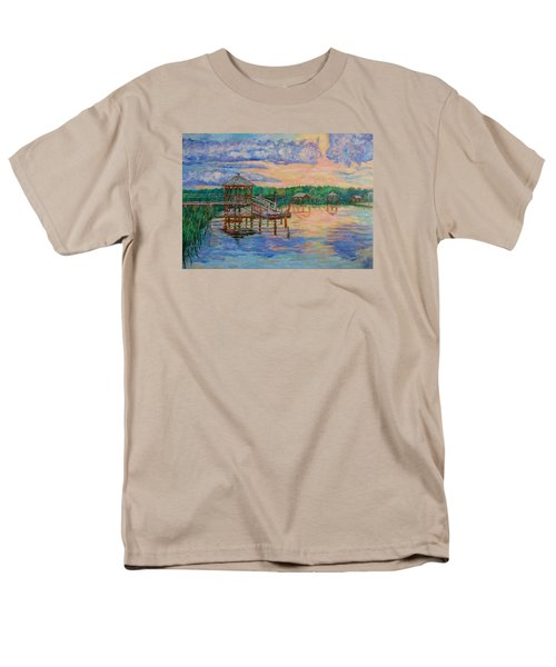 Marsh View At Pawleys Island Men's T-Shirt  (Regular Fit) by Kendall Kessler