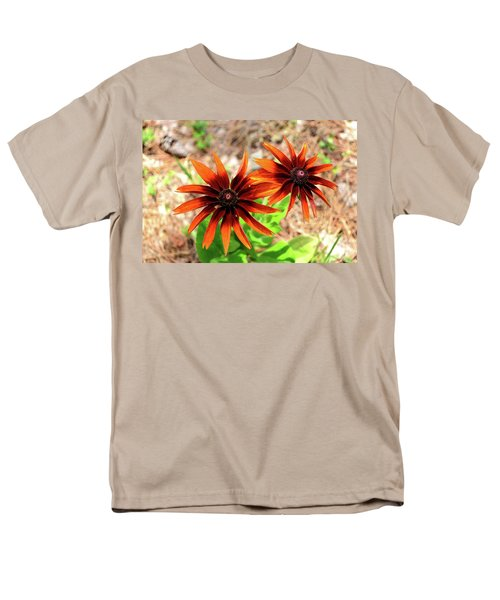 Men's T-Shirt  (Regular Fit) featuring the photograph Masked by Larry Bishop