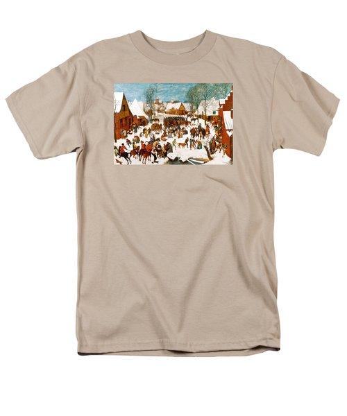 Massacre Of The Innocents Men's T-Shirt  (Regular Fit) by Pieter Bruegel the Elder
