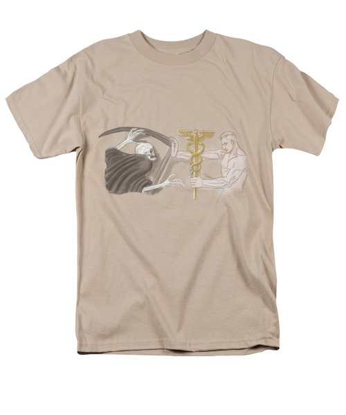 Men's T-Shirt  (Regular Fit) featuring the mixed media Medic by TortureLord Art