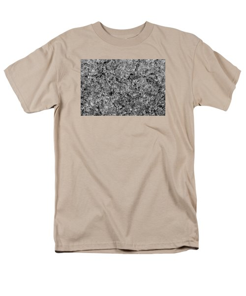 Men's T-Shirt  (Regular Fit) featuring the photograph Melting Snow by Chevy Fleet