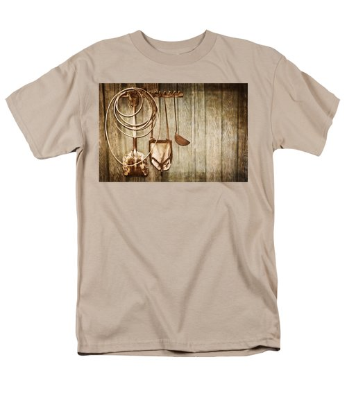 Men's T-Shirt  (Regular Fit) featuring the photograph Memories Of Grandpa by Carolyn Marshall