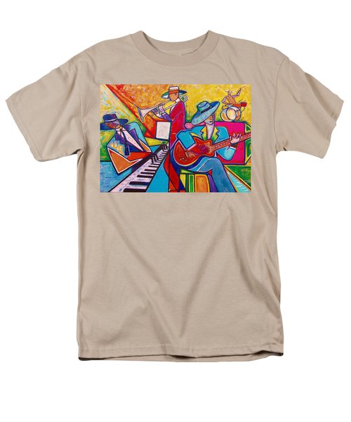 Men's T-Shirt  (Regular Fit) featuring the painting Memphis Music by Emery Franklin