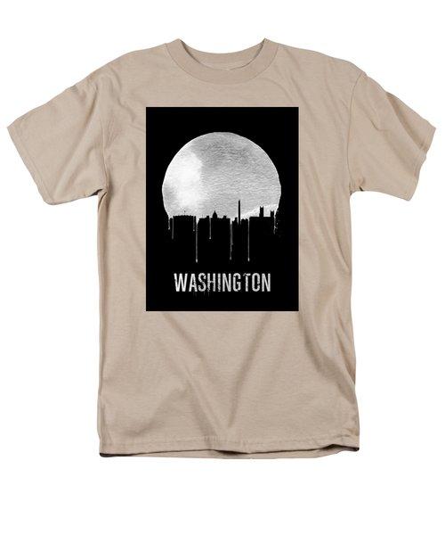 Memphis Skyline Black Men's T-Shirt  (Regular Fit) by Naxart Studio