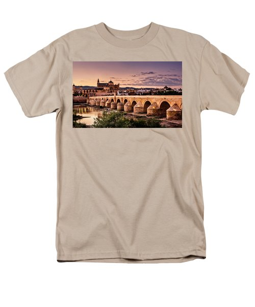 Mezquita In The Evening Men's T-Shirt  (Regular Fit) by Marion McCristall