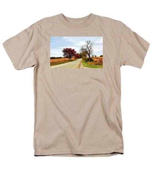 Midwest Autumn  Men's T-Shirt  (Regular Fit) by Pat Cook