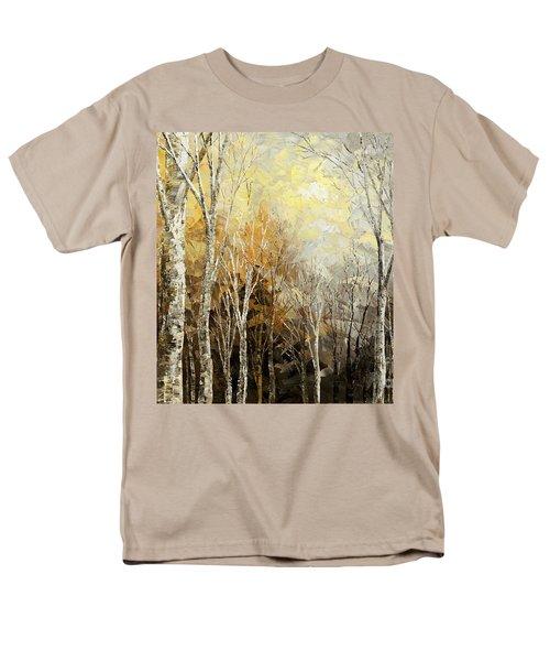 Mindful Melodies Men's T-Shirt  (Regular Fit) by Tatiana Iliina